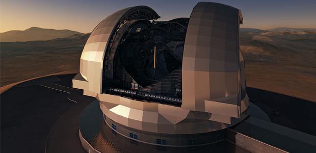 Telescope groundbreaking set to be a real blast